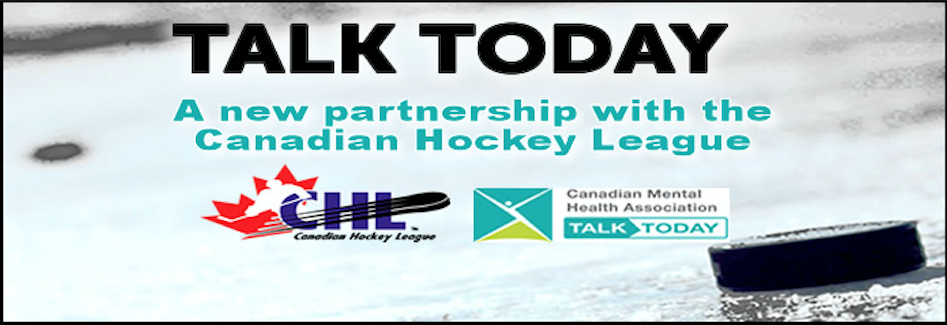 CMHA partners with Canadian Hockey League to launch Talk Today