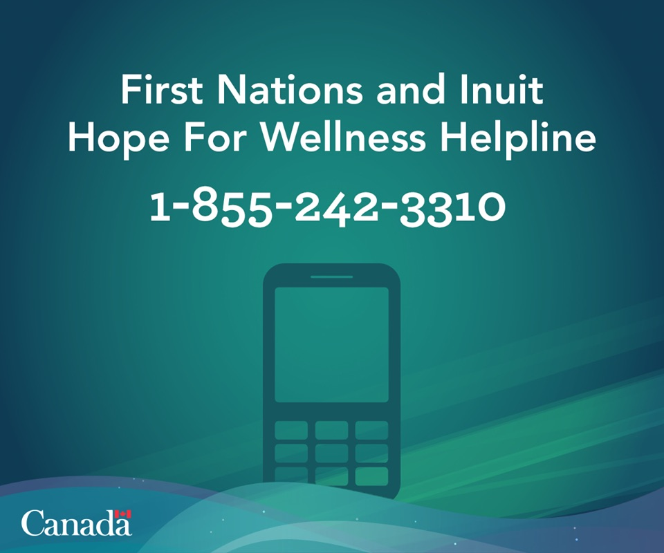 First Nations and Inuit Hope for Wellness Helpline