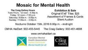 Mosaic for Mental Health