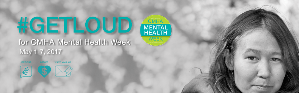 We are getting ready to Get Loud for Mental Health Week
