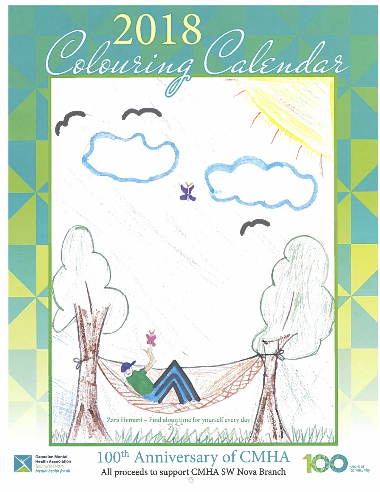 CMHA Southwest Nova Calendar