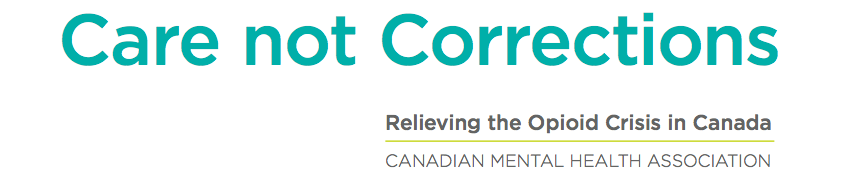 CMHA Policy Statement on Opioids