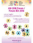ASI Forum promo poster